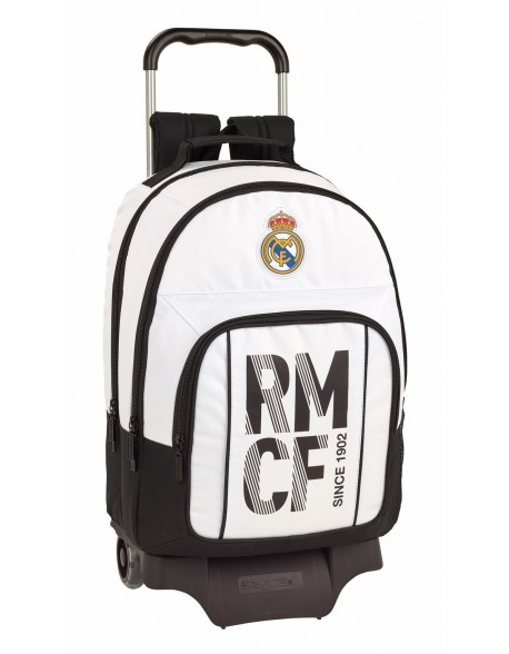 Real Madrid CF Mochila grande ruedas, carro, trolley