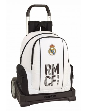 Real Madrid CF Mochila con carro ruedas Evolution, Trolley