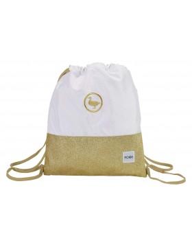 Moos Saco mochila plano cuerdas 35 x 40 cm