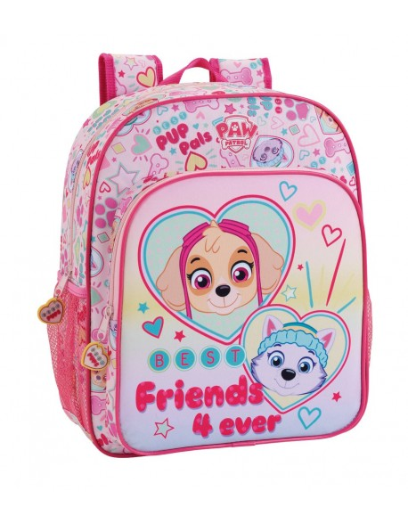 Paw Patrol Mochila junior niña adaptable carro