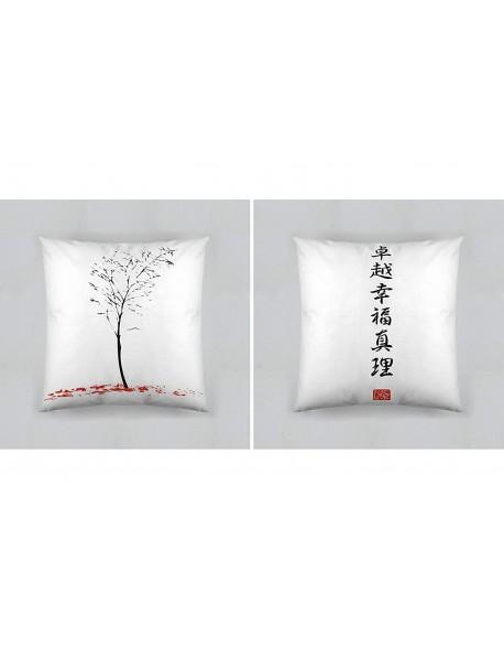 Tsuki Cojín reversible Japonés Hinata 100% algodón