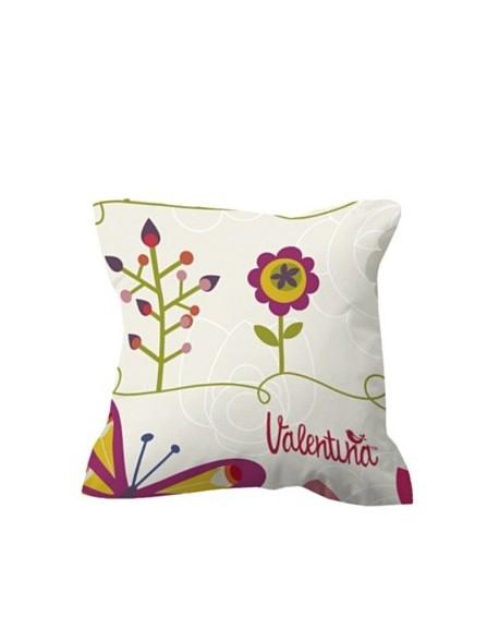 Valentina Cojín Two Butterflies 100% algodón