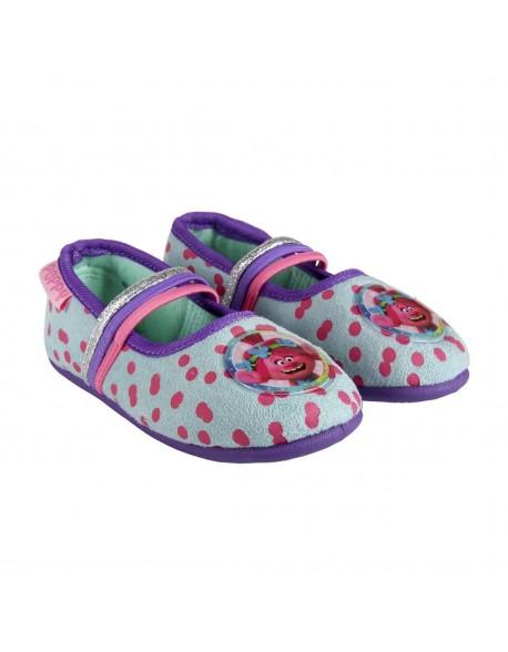 Trolls Girls Ballerina Slippers
