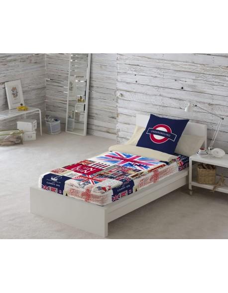 Naturals Saco nórdico con o sin relleno Britain para cama 90