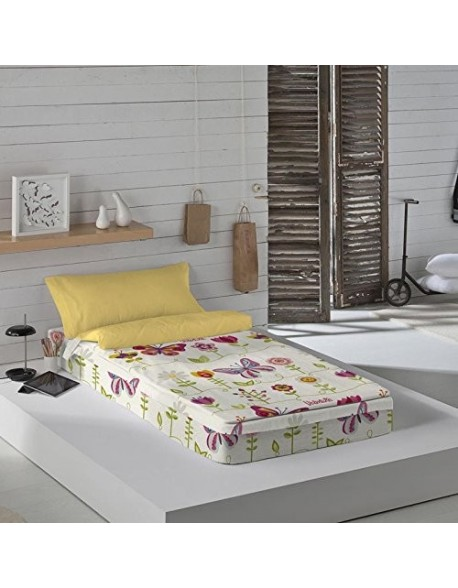 Valentina Zippy sack with/without duvet bed 90 cm Two Butterflies