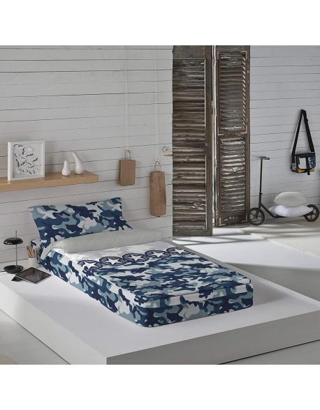 Naturals Saco nórdico con o sin relleno Army para cama 90
