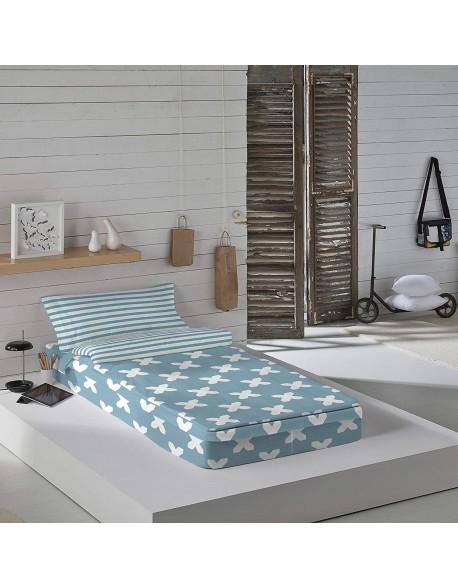 Munich Saco nórdico con o sin relleno Evo Blue para cama 90