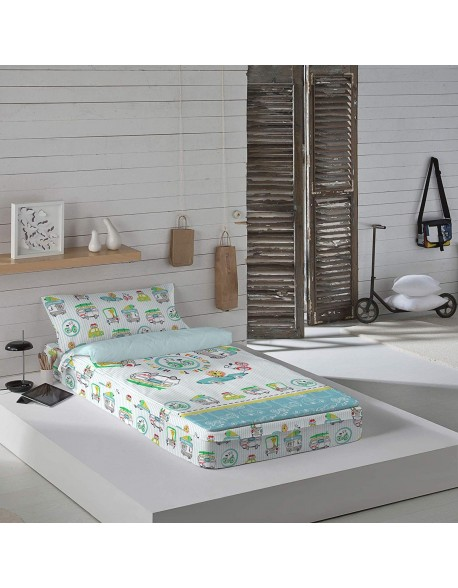 Naturals Saco nórdico con o sin relleno Cars Surf para cama 90