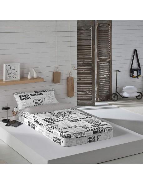 Naturals Saco nórdico con o sin relleno Words para cama 90