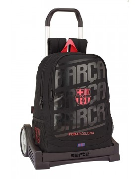 FB Barcelona Mochila con carro ruedas Evolution, Trolley