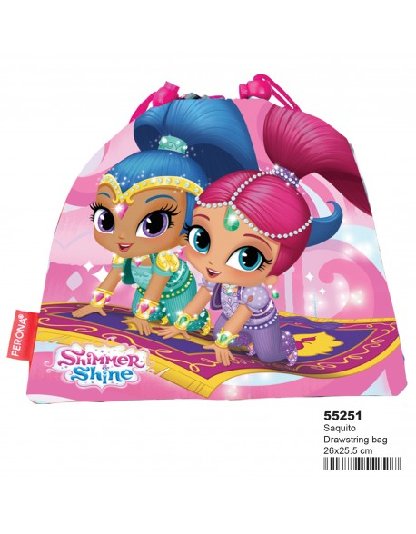 Shimmer and Shine Saquito merienda 26 cm