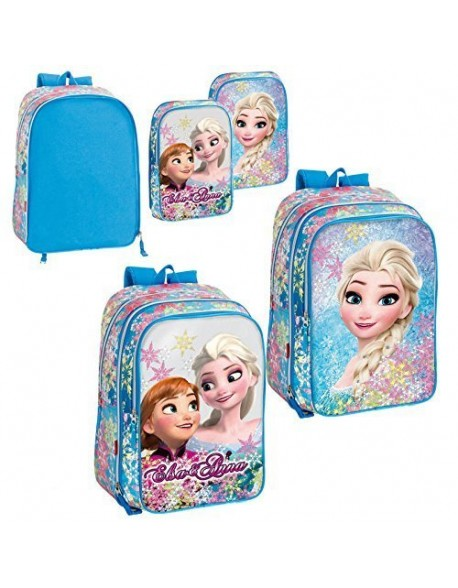 Frozen Mochila adaptable a carro con bolsillos intercambiables