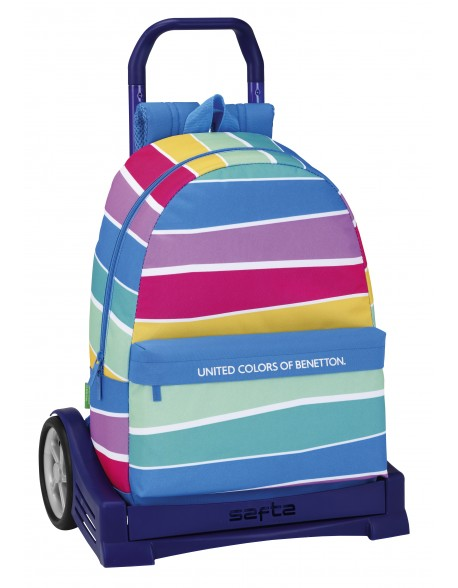 Mochila UCB Benetton con carro ruedas Evolution, Trolley