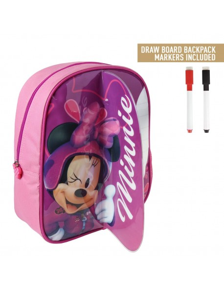 Minnie Mouse Mochila infantil play con bolsillo de red