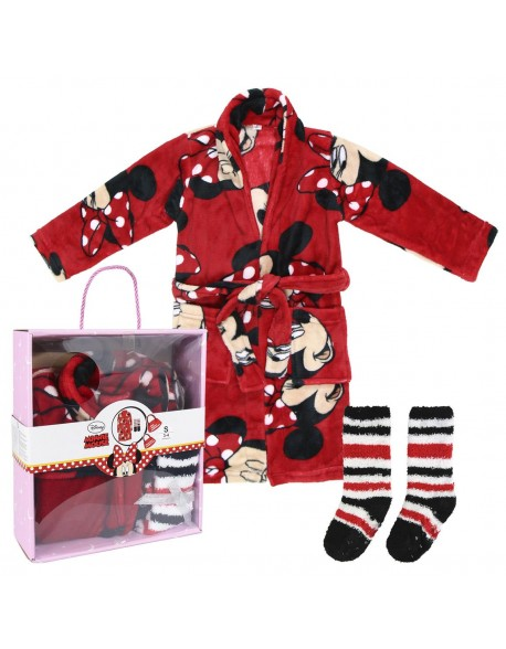 Minnie Mouse Set caja regalo: batín y calcetines