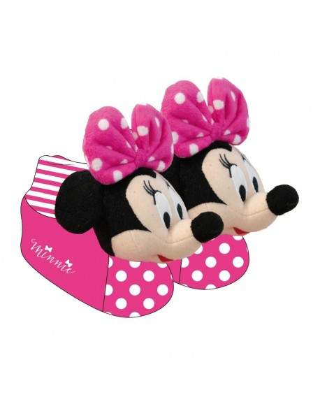 Minnie Mouse Zapatillas de estar por casa niña, pantuflas