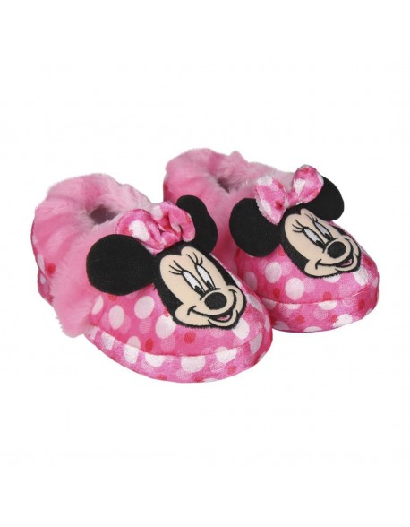 Minnie Mouse Girls Indoor Slippers