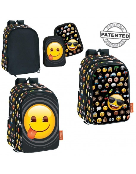 Emoji Mochila adaptable a carro con bolsillos intercambiables