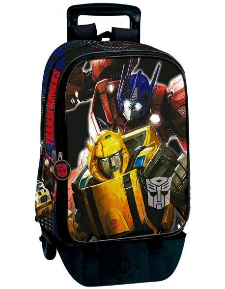 Transformers Mochila con carro plegable, ruedas, Trolley