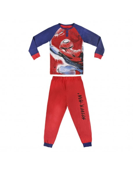 Spiderman Pijama manga larga niño