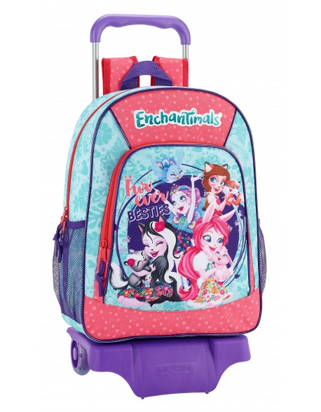 Enchantimals Mochila grande ruedas, carro, trolley