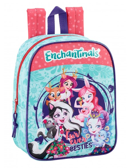 Enchantimals Mochila guardería niña adaptable carro