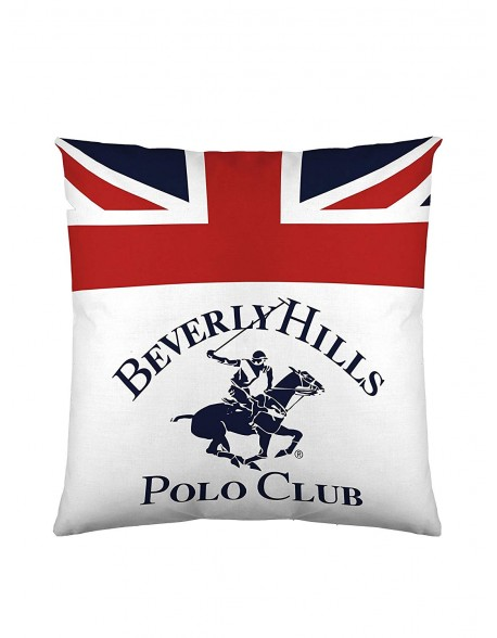 Beverly Hills Polo Club Cojín reversible Madison 100% algodón