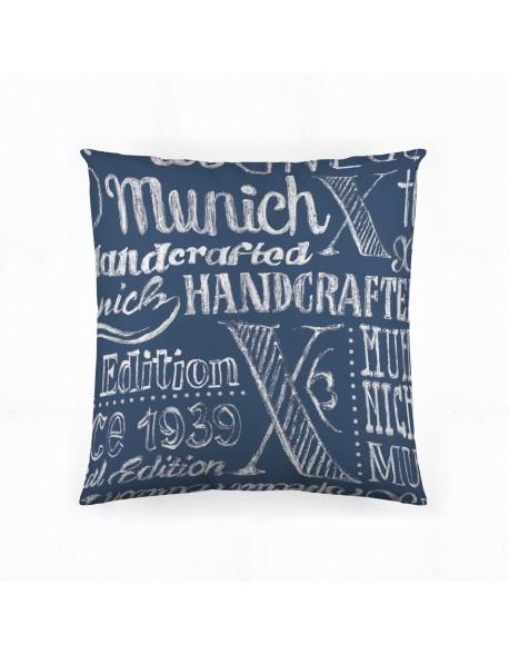 Munich Cojín reversible Jet Jeans 100% algodón