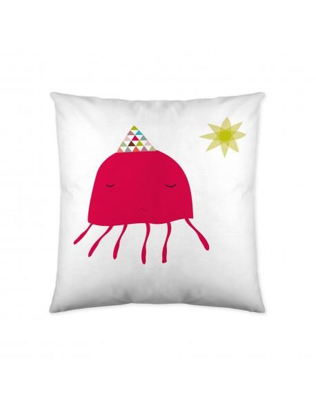 Haciendo el Indio Cojín reversible Little Mermaid 100% algodón