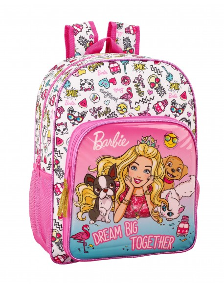 Barbie Mochila grande adaptable a carro