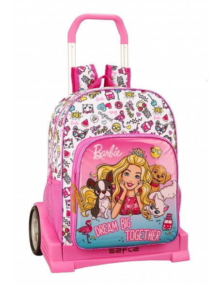 Barbie Mochila con carro ruedas Evolution, Trolley