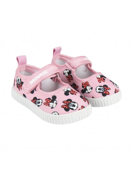 Minnie Mouse Zapatillas loneta merceditas para niña
