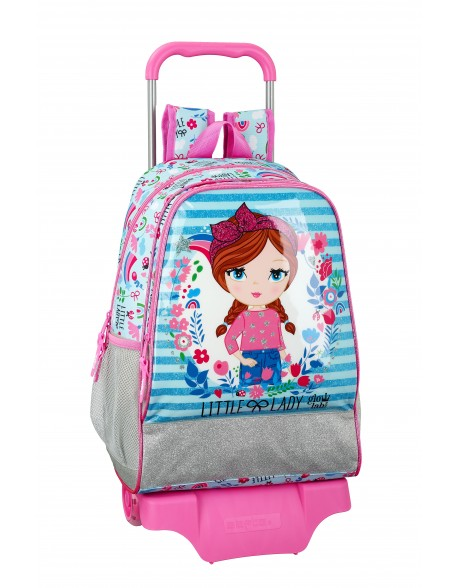 Glowlab Little Lady Mochila grande ruedas, carro, trolley