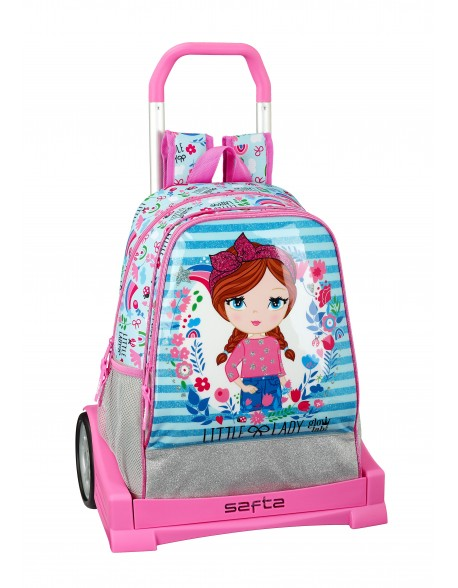 Glowlab Little Lady Mochila con carro ruedas Evolution, Trolley
