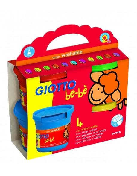 Giotto be-bè Finger Paint Set