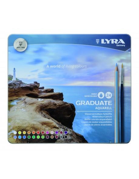 Lyra Graduate Aquarell 24 Lápices de Colores