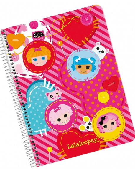 Lalaloopsy Notebook pink