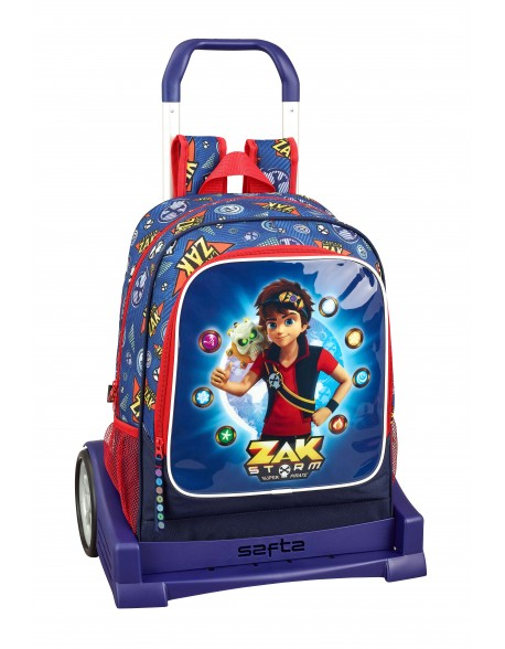 Zak Storm Captain Zak Mochila con carro ruedas Evolution, Trolley