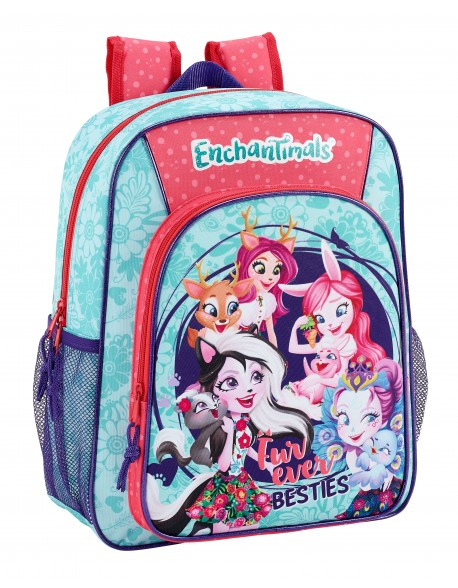 Enchantimals Mochila junior niña adaptable carro