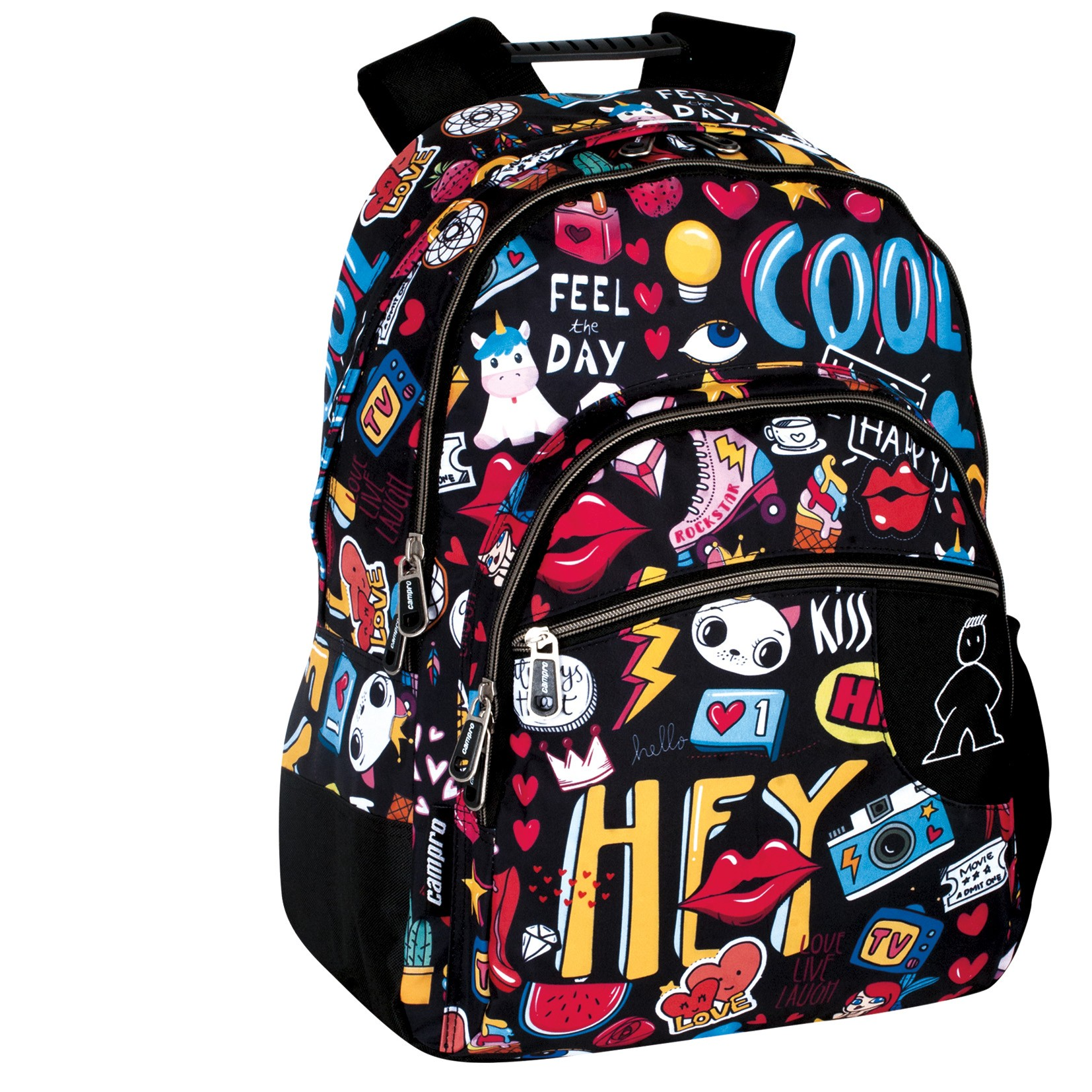 JCvCX 2018 New Venom Cosplay Backpack Horrible Venom Schoolbag Dual Shoulders Notebook Backpack