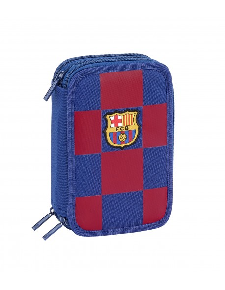 FC Barcelona Triple Pencil Case 41 pieces, boy