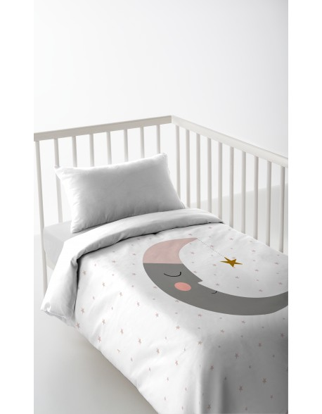 Haciendo el Indio Sleeping Moon Duvet Cover for cot bed
