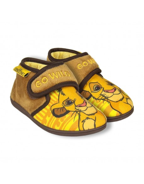 Lion King Girls Indoor Slippers