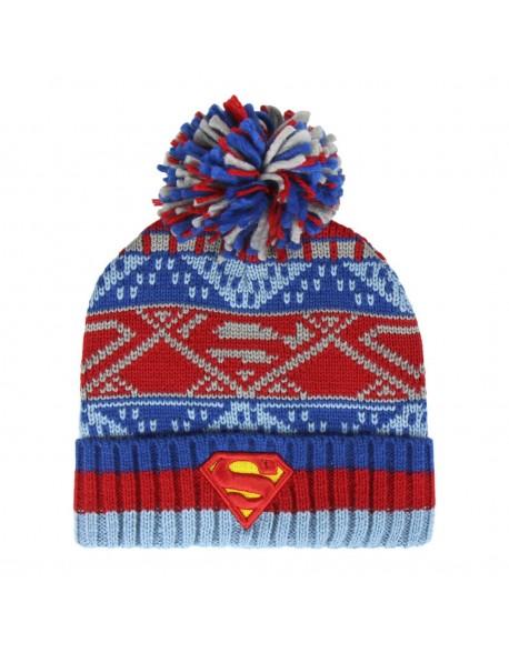 Superman Gorro Pompón niño