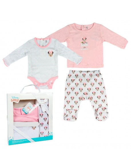 Minnie Set caja regalo single jersey, ropa bebé