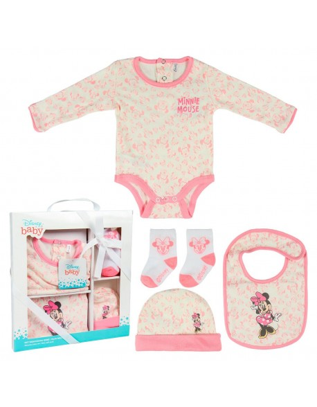 Minnie Set caja regalo single jersey, ropa bebé