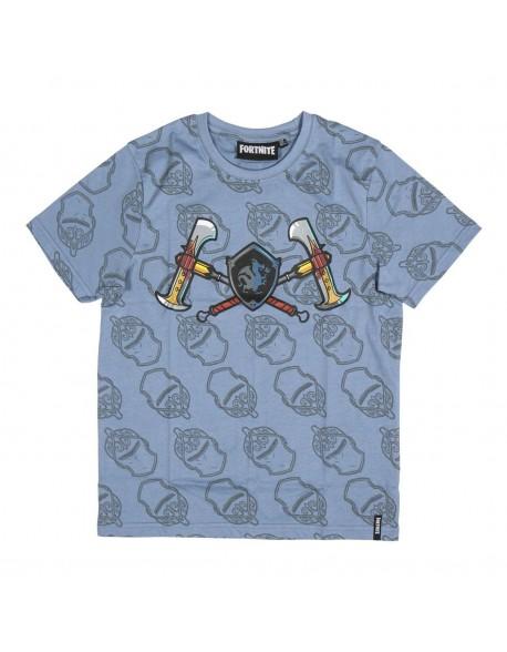 Fortnite Camiseta manga corta azul