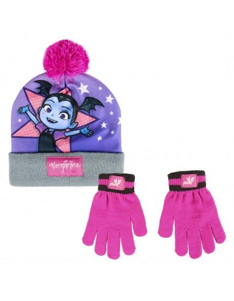 Vampirina Conjunto 2 piezas: gorro + guantes Niña