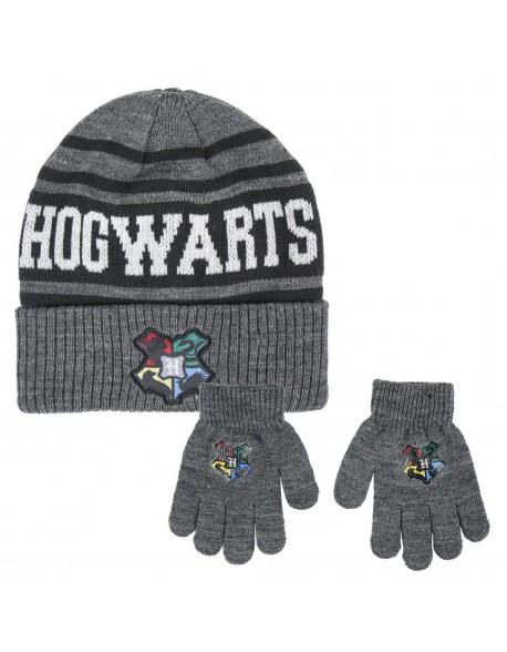 Harry Potter Conjunto 2 piezas: gorro + guantes Niño