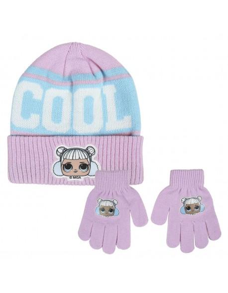 Lol Conjunto 2 piezas: gorro + guantes Niña